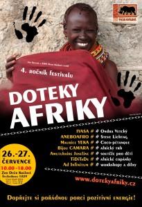 DOTEKY AFRIKY 2014
