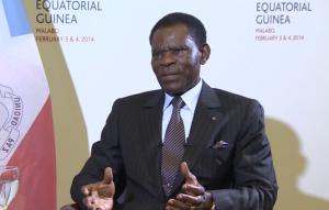 Prezident Rovníkové Guiney Teodoro Obiang. Zdroj: youtube.com