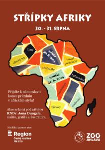 Malá africká konference - Jihlava ZOO, srpen 2014