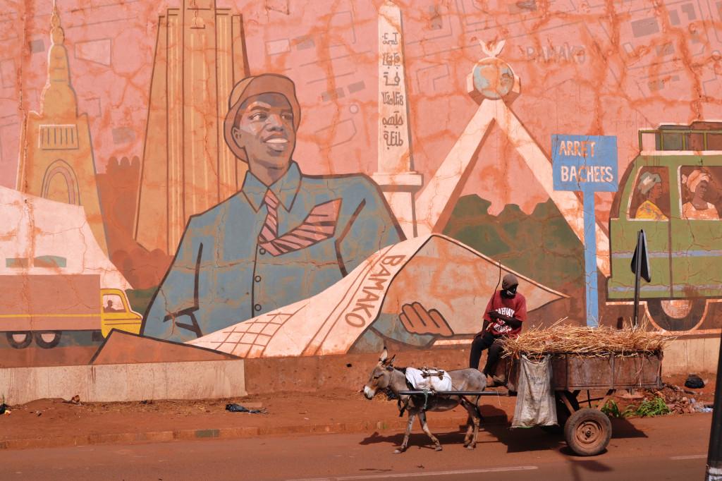 Na životě lidí v Bamaku, ale i v dalších městech mimo konfliktní oblast na severu Mali  se nepokoje příliš neprojevují. Foto: David Lachout