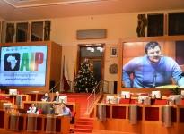 Jan Prouza, vedoucí Kadedry politilogie UHK, při panelové diskuzi na závěr konference