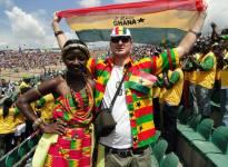 Kvalifikace na mistrovství světa za účasti studentů UHK (Ghana : Egypt, 6:1 :-)), Kumasi, Grana. Foto: Jakub Horák