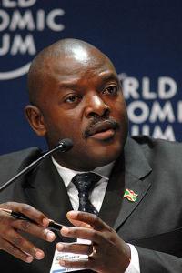 Současný prezident Pierre Nkurunziza. Zdroj: Wikipedia.org