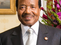 Prezident Kamerunu Paul Biya. Zdroj: wikipedia.org