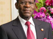 Prezident Rovníkové Guiney Teodoro Obiang. Zdroj: wikipedia.org