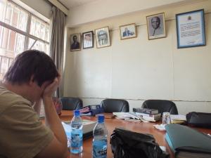 Vyjednávání s University of Nairobi nebyla jednoduchá