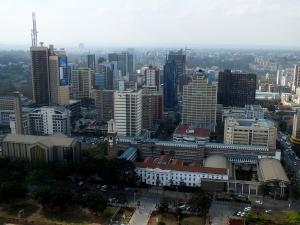 Nairobi je moderní africké velkoměsto