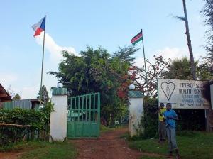 Vstup do nemocnice Itibo