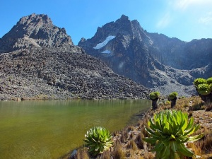 Krásné vysokohorské jezero