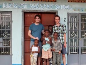 S paní ředitelkou a jejími vnoučaty