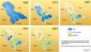 Úbytek vodní plochy