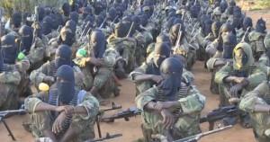Výcvikový kemp aš-Šabábu kdesi na území Somálska. Zdroj: Youtube.com