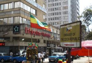 V hlavním městě Addis Abebě je jedno z mála českých velvyslanectví v subsaharské Africe. Foto: Africký informační portál