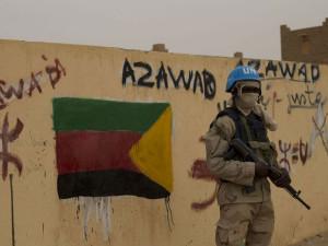 Příslušník mise MINUSMA v Mali. Zdroj: Warscapes