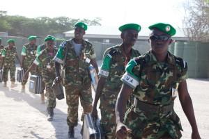 Burundští vojáci v rámci mise AMISOM. Zdroj: Wikimedia commons