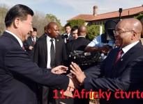 HE President Jacob Zuma welcomes HE President Xi Jinping on a state visit to South Africa. Pretoria, Union Building, 02/12/2015, Elmond Jiyane, GCIS