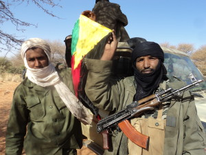 Tuarežští bojovníci. Zdroj: wikimedia commons