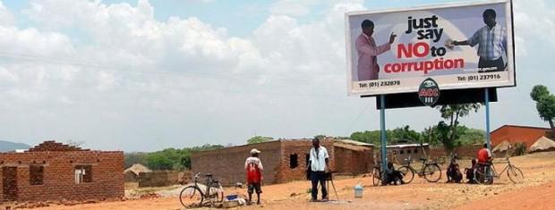 """""""Řekni ne korupci."""" Foto: chikaforafrica"""