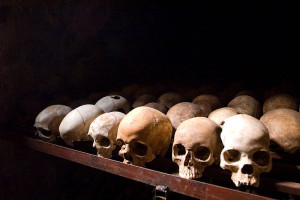Nyamata, památník obětem geneocidy. Zdroj: Wikipedia Commons.