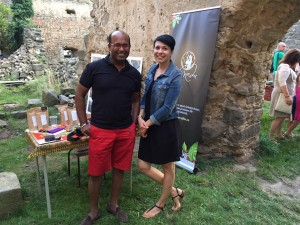 Ghulam Samdami a Lenka Mansour