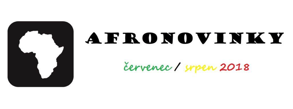 Afronovinky: Červenec/srpen 2018